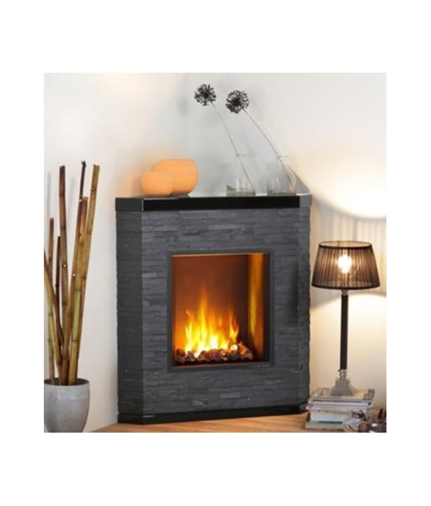Comprar chimenea el ctrica mod ardesio esquina modelo - Chimenea electrica mueble ...