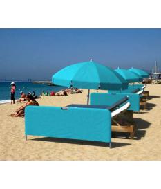 Separador playa con funda