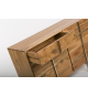 Aparador madera acacia Damara de 118 cm