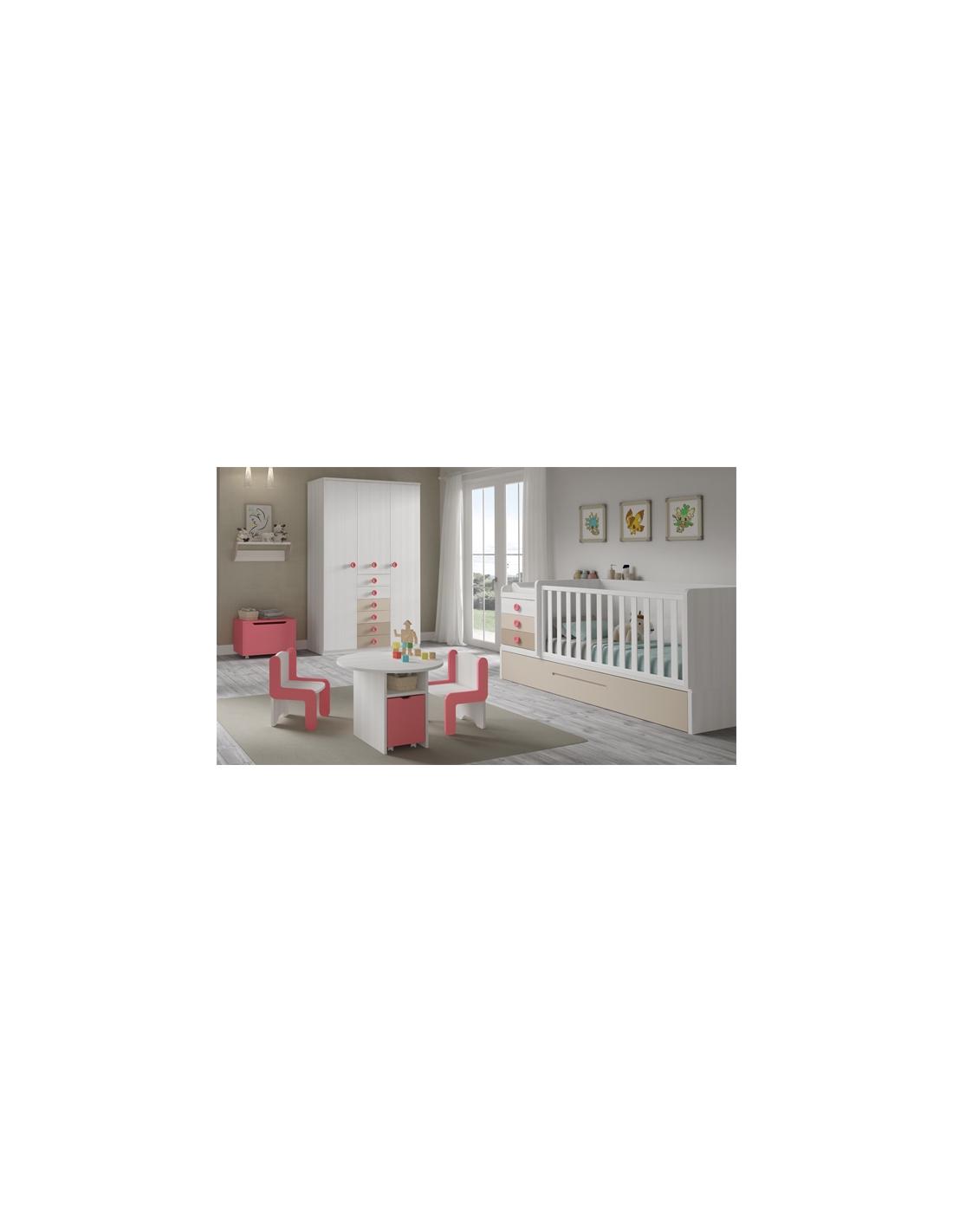 Comprar composici n habitaci n bebe c112 con cuna - Habitacion convertible bebe ...