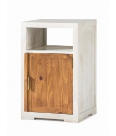 Mueble auxiliar rustico madera