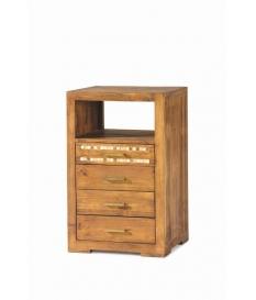 Mueble auxiliar rustico madera