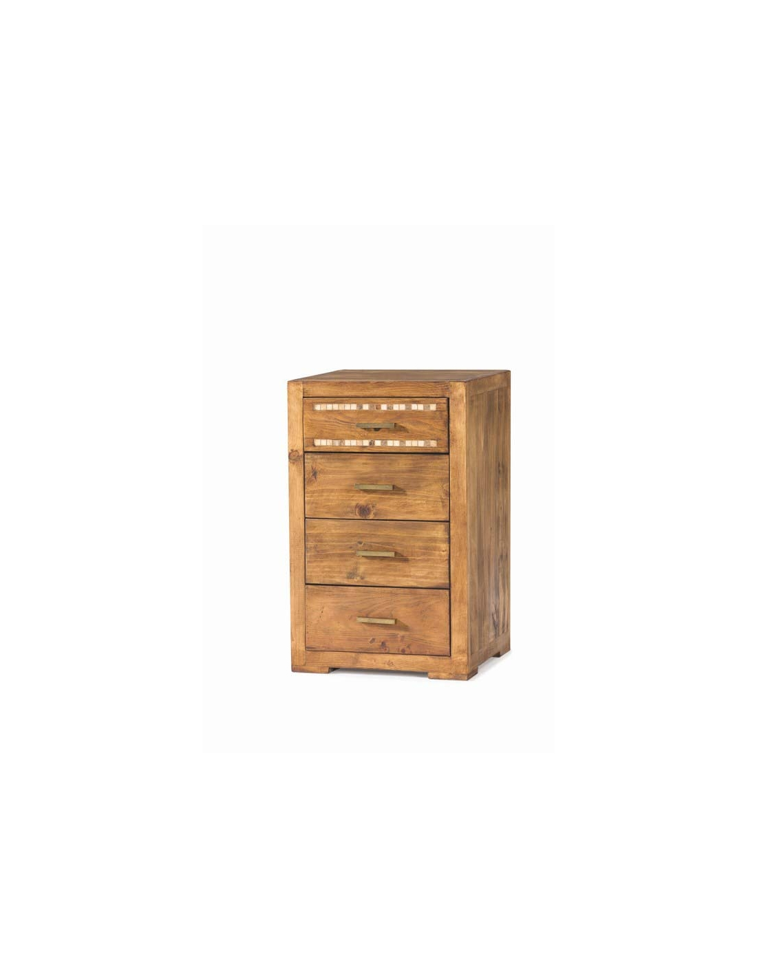 Comprar mueble auxiliar estilo rustico madera cuatro for Muebles estilo rustico