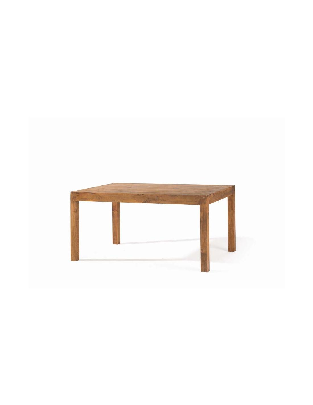 Comprar mesa de comedor rustica rectangular fija minimal for Mesas rusticas comedor