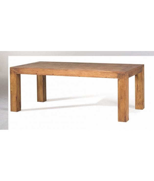 Comprar Mesa de comedor rustica rectangular Zoom 50012