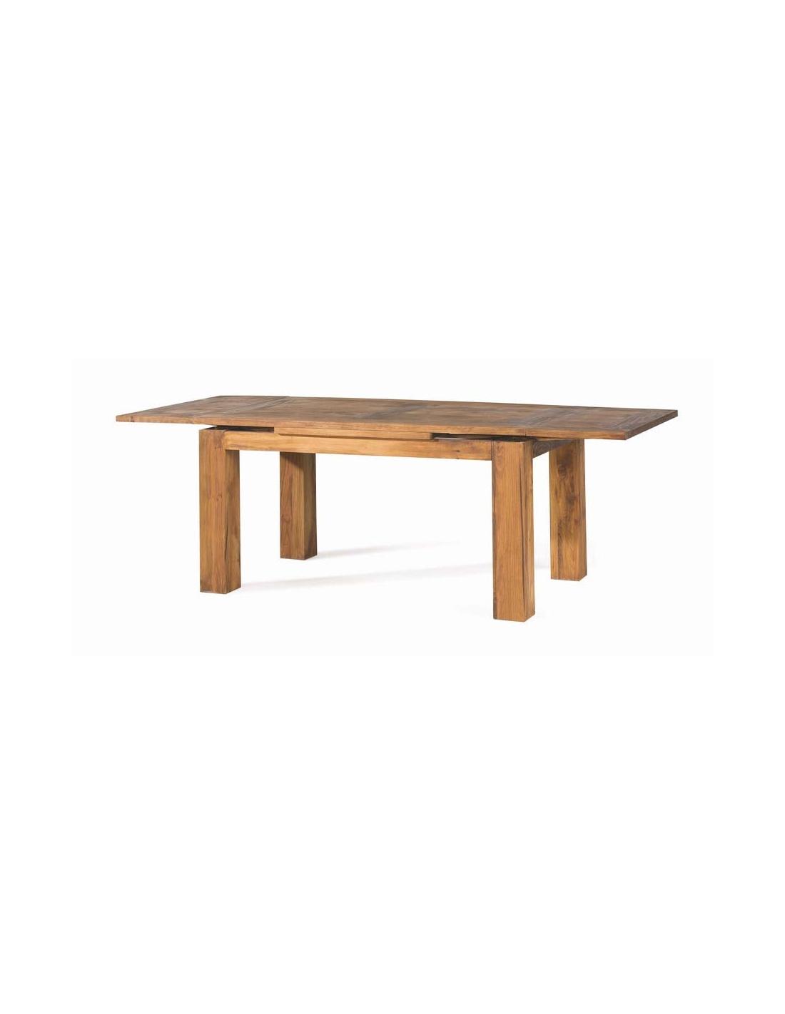 Comprar mesa de comedor rustica rectangular extensible zoom - Mesa comedor rustica extensible ...