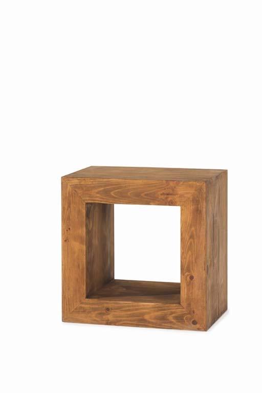 cubo madera convertible en silla