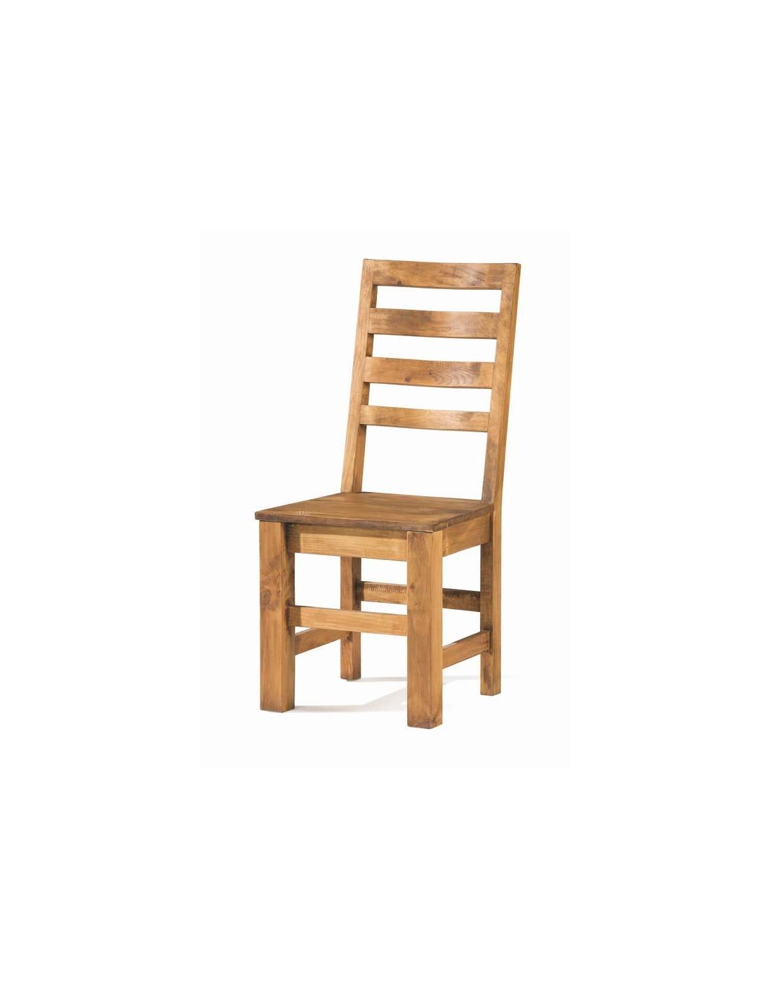 Comprar silla de comedor de estilo rustico 50031 zoom for Estilos de sillas para comedor
