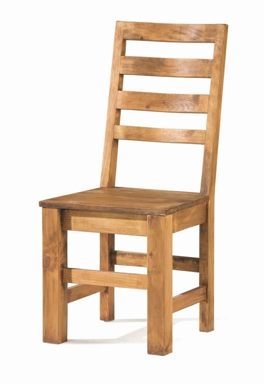 sillas de comedor rusticas