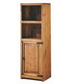 Vitrina modular rustica madera