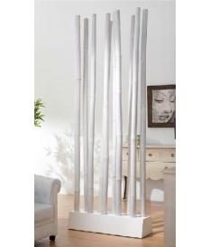 Separador ambientes de cañas de bambú 107 cm