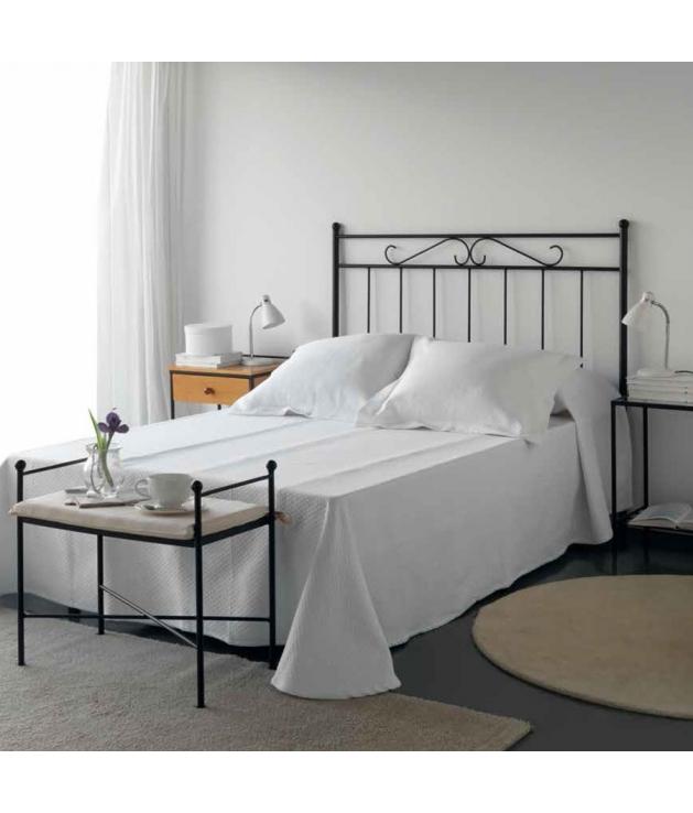 Cabecero de forja para cama de 90 modelo 1037