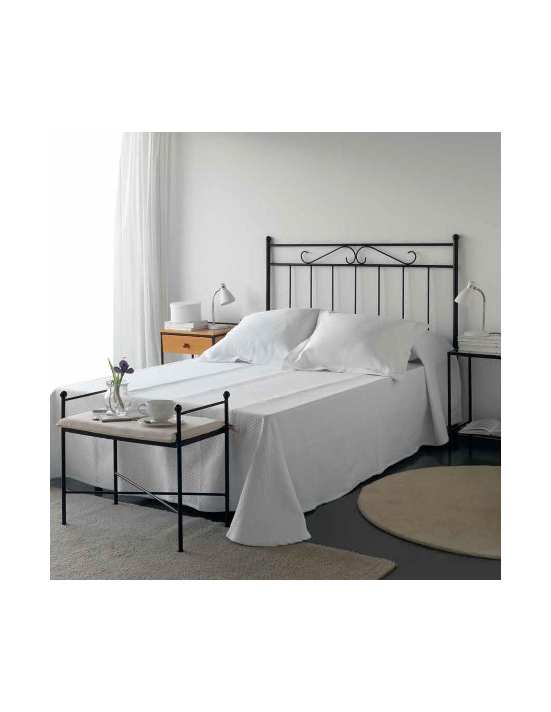 Comprar cabecero de forja original y barato para cama de 90 - Cabeceros de forja originales ...