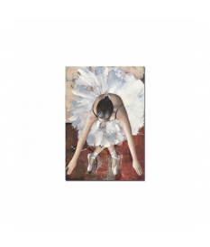 Lienzo bailarina 100% pintado mano 70x3x100 cm