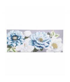 Lienzo flores pintado a mano 150x3x60 cm