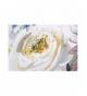 Set 2 lienzos rosas 100% pintado mano 120x3x80 cm