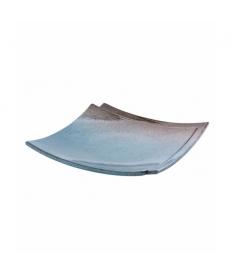 Centro cerámica 31x31x6 cm