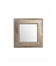 Espejo resina champagne 98x4x98 cm