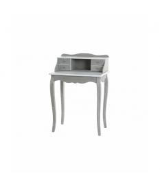Escritorio madera gris blanco 63x40x91 cm