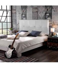 Cabecero cama modelo Cross polipiel para cama de 135cm