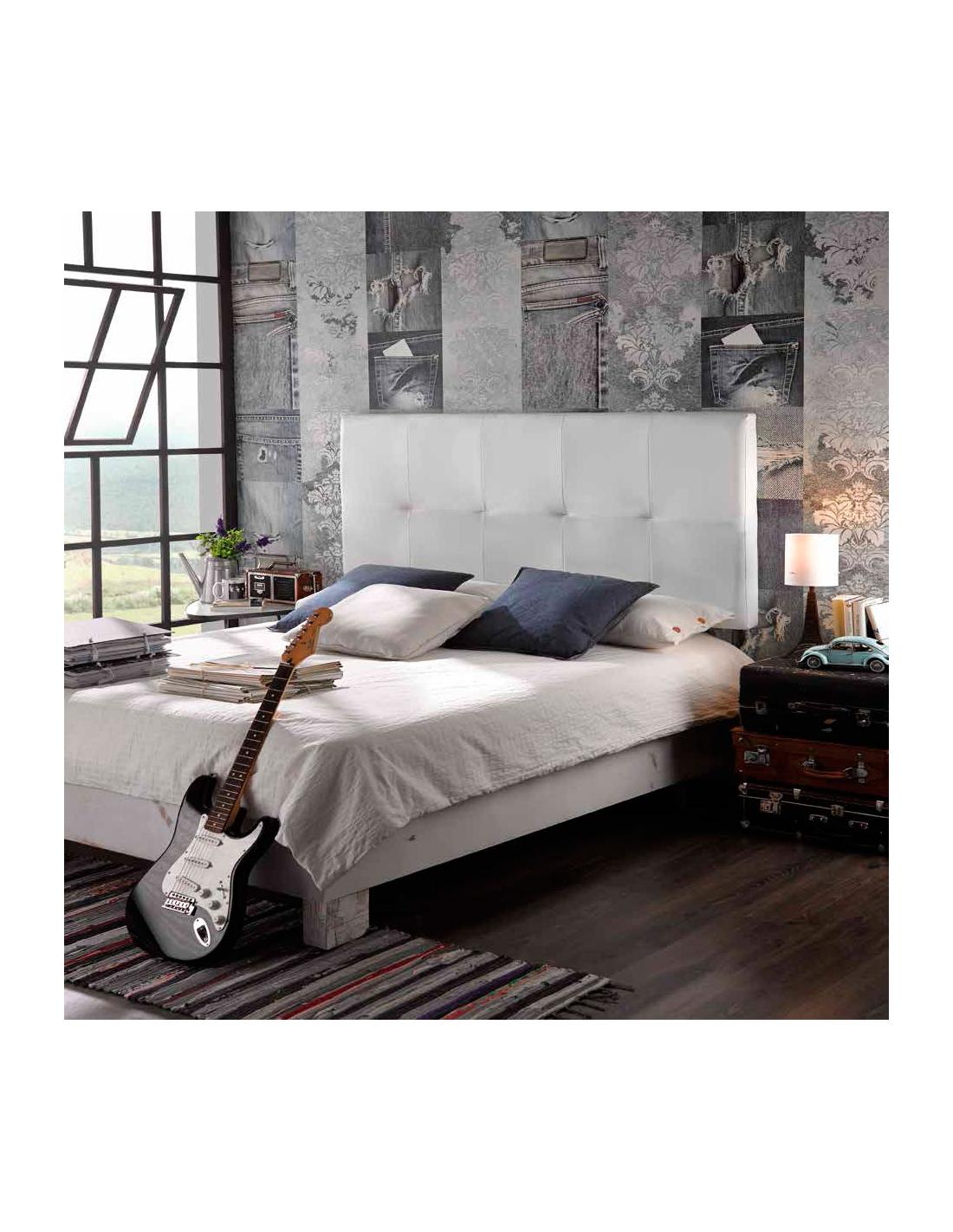 Comprar cabecero modelo cross en polipiel - Cabecero cama polipiel ...