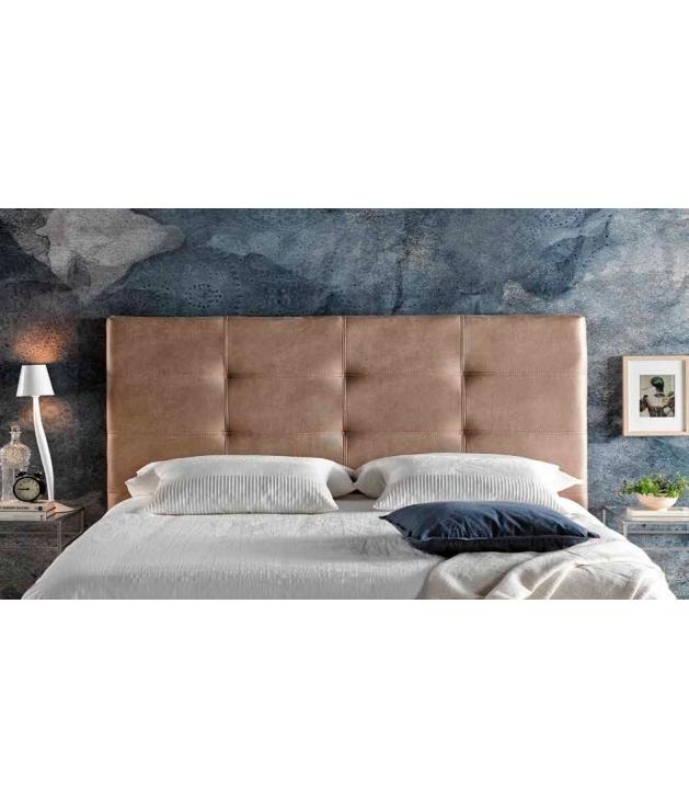 bff5aae8619e1 Cabecero cama modelo Zeus polipiel para cama de 90cm.