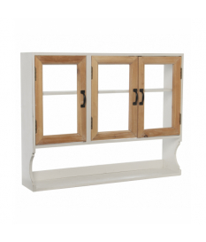 Vitrina madera c/3 puertas