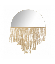 Espejo metal/cuerda