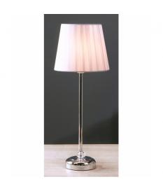 Lámpara de sobremesa Génica plata