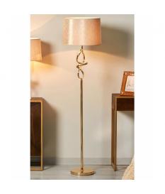 Lámpara de pie Cintia oro