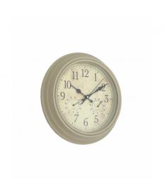 Reloj de pared estaciones tiempo crema