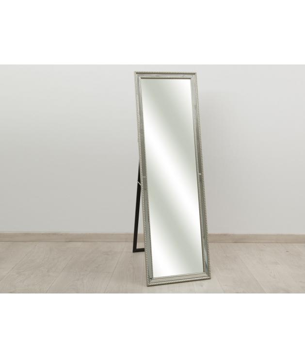 Espejo madera y espejo dorado c/soporte