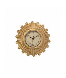 Reloj pared dorado ›30 cm