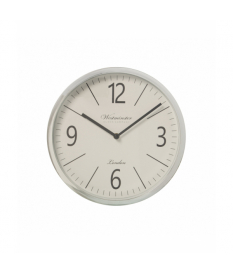 Reloj de pared ›50 cm metal plateado