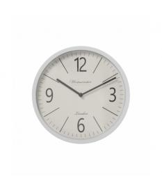 Reloj de pared ›50 cm metal blanco
