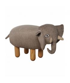 Puff infantil elefante c/patas