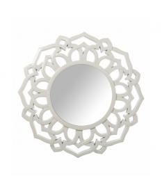 Espejo resina blanco 60 cm