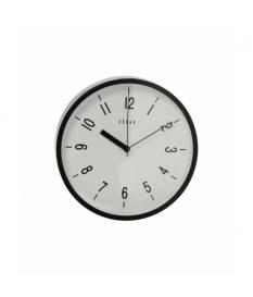 Reloj pared acrílico negro 22,5 cm