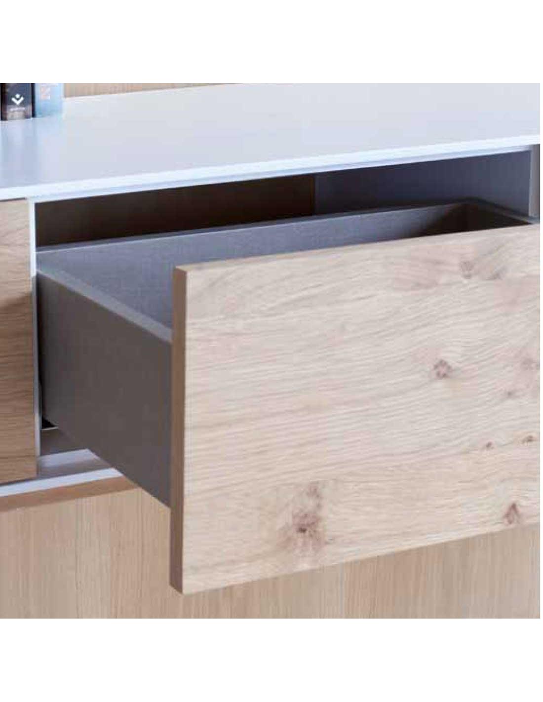 Comprar mueble tv modelo helsinki de 205 cm ancho con for Muebles salon con patas
