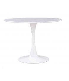 Mesa de comedor modelo 232 redonda de 90 cm