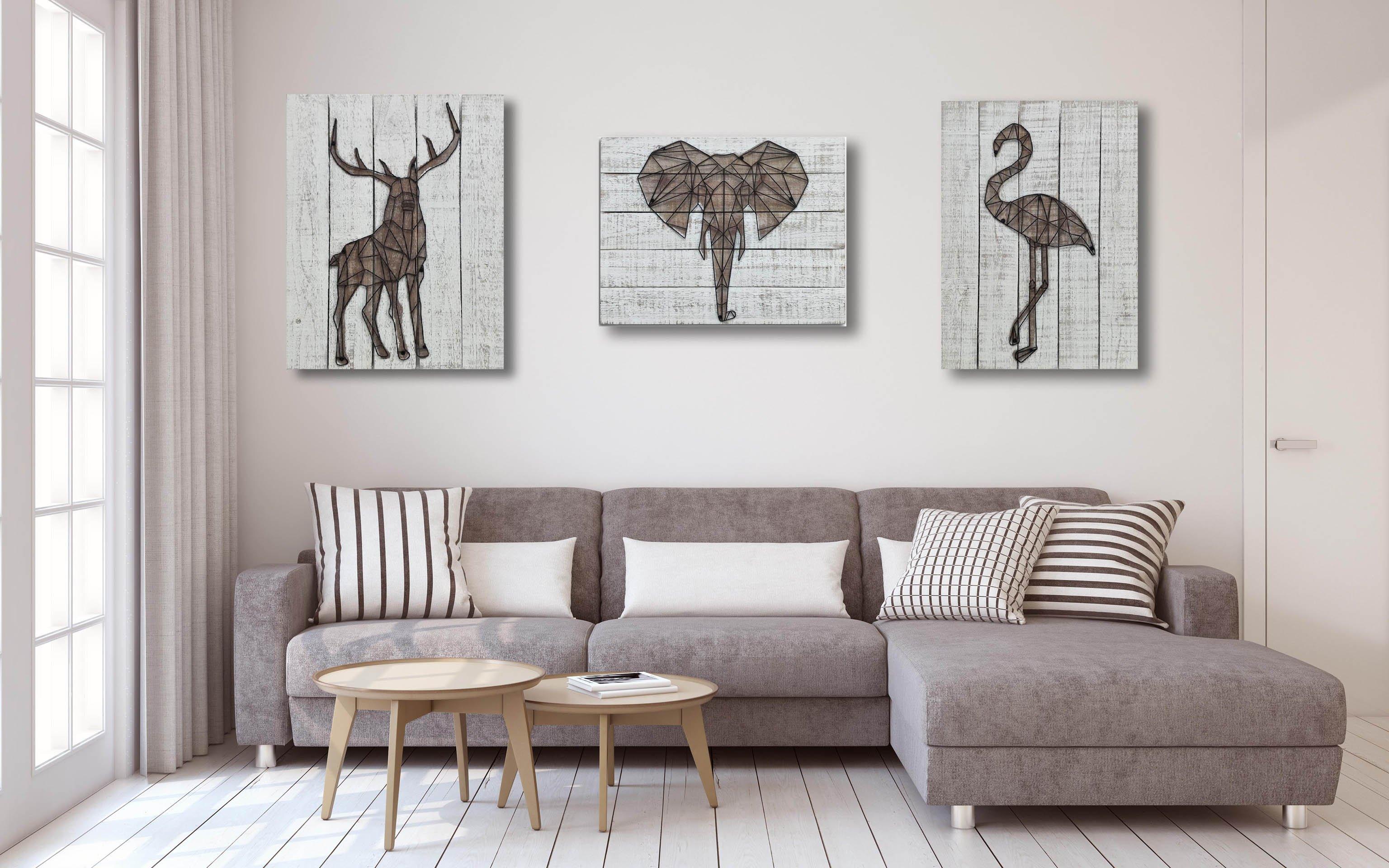 Cómo potenciar la simetría en la decoración del salón