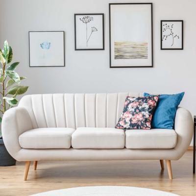 Tips para mantener un sofá blanco como el primer día