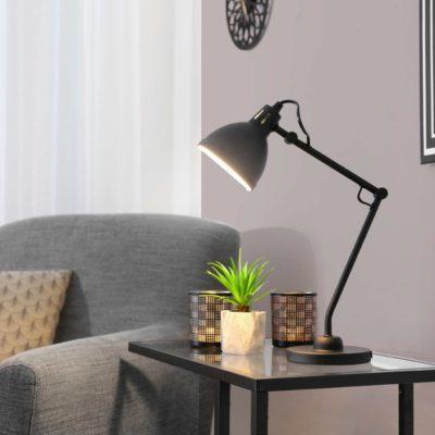Las lámparas de sobremesa crean un ambiente mágico portada
